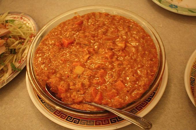 贅沢すぎる濃い蟹味!バクナムの蟹カレー