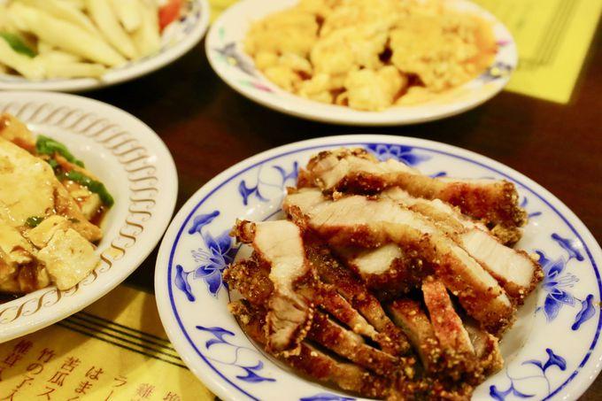 丸林魯肉飯のおすすめは「排骨」と「はまぐりのスープ」