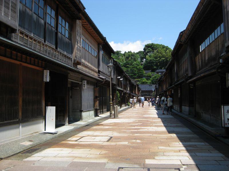 古都金沢の情緒に浸る!主計町・ひがし茶屋街の街並み散策!