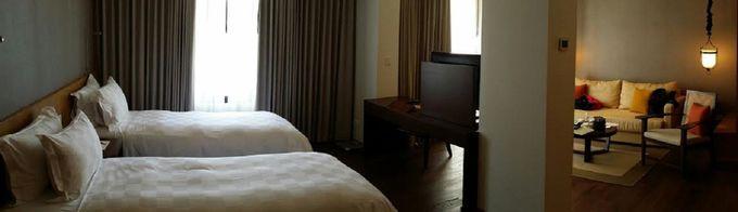 全室バルコニー付きのスイート仕様!豪華かつリラックスできる客室