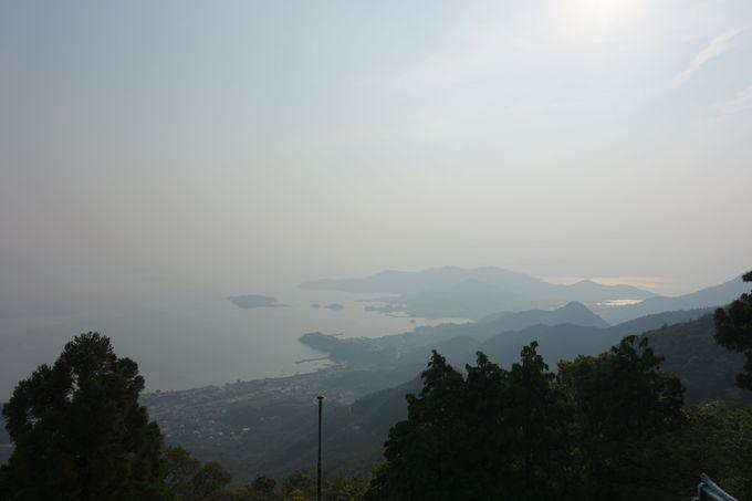 護摩堂からの眺望はまさに絶景