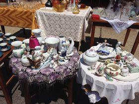 東欧雑貨ファンにおすすめ!ブダペストのエチェリ中古品市場で掘り出し物を探そう