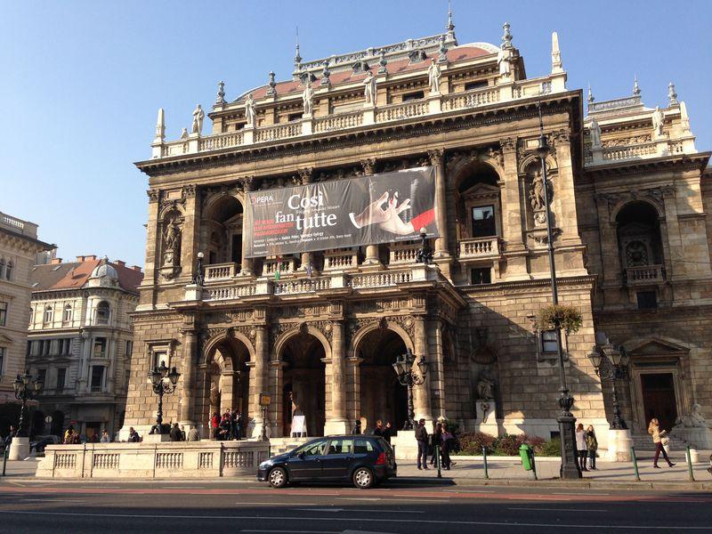 オペラはヨーロッパのエンタメ最高峰!ハンガリー国立歌劇場で夢のようなひと時を
