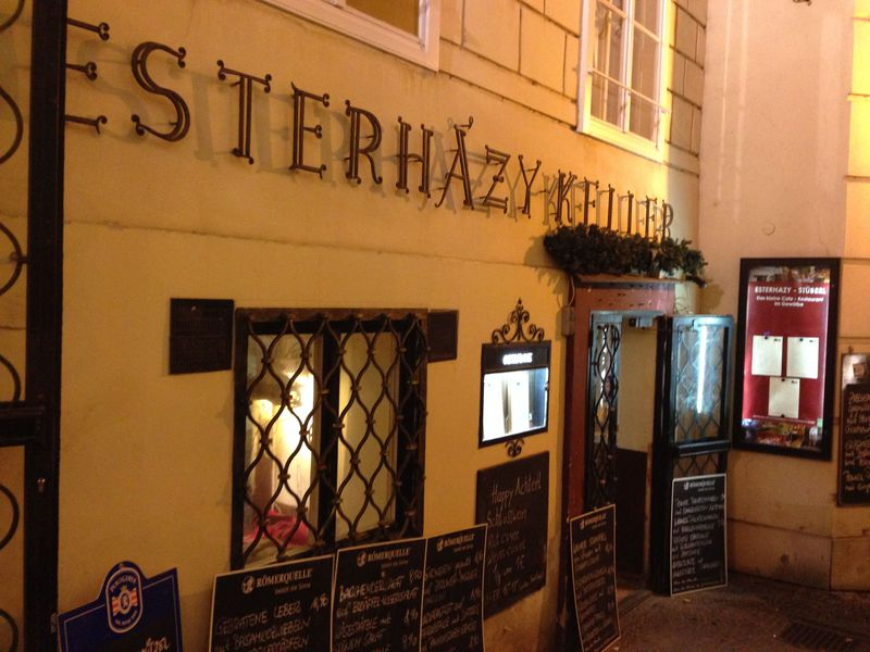 ウィーン旧市街のワイン居酒屋「シュタットホイリゲ」で食べる・飲む♪