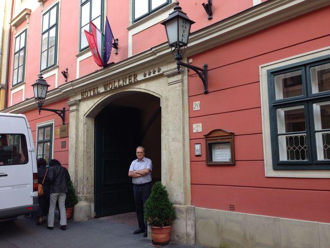 歴史的建築物のホテル・ヴォルナー