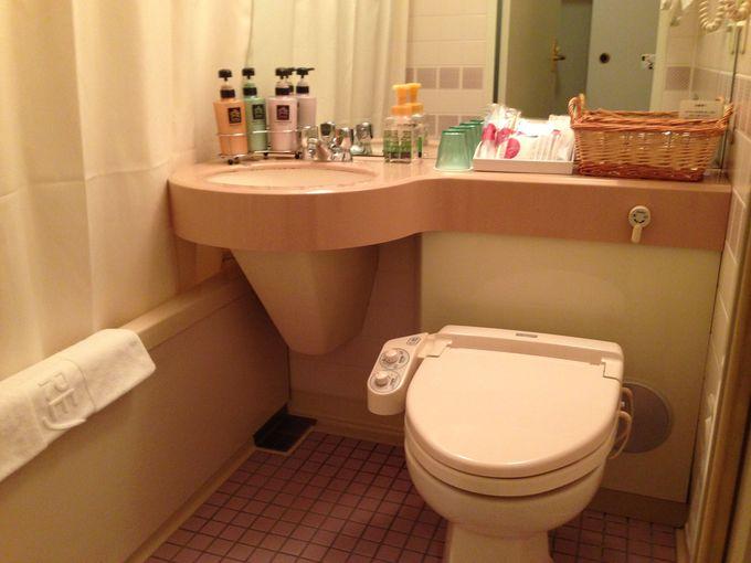 バスルームだってゆったり。