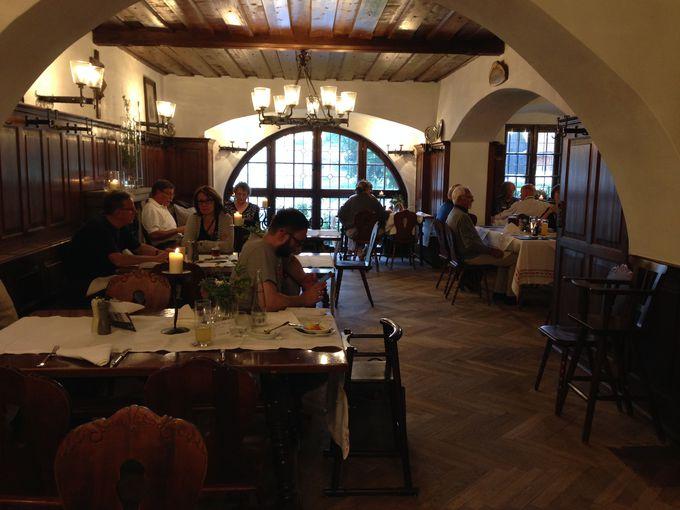 バイエルン郷土料理がおいしいビアレストラン