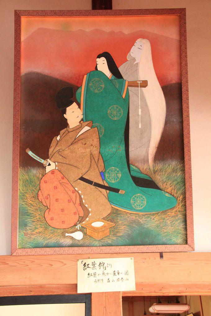 なぜ信州の山里に京の都が?「鬼女・紅葉(もみじ)」の伝説