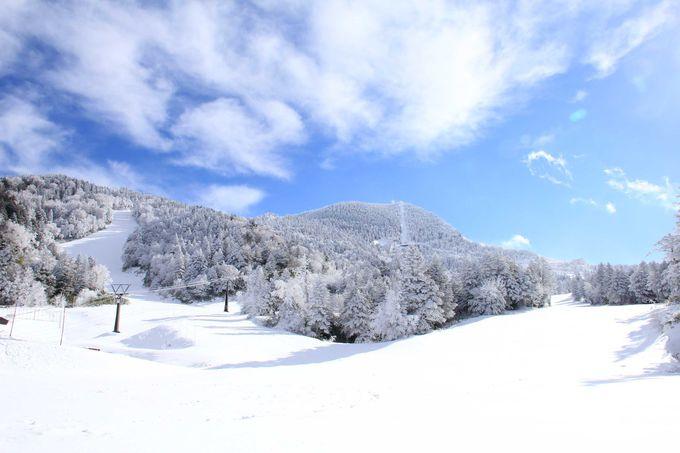 日本一標高の高いスキー場