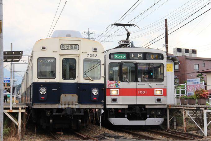 東京で走っていた電車が活躍しています。