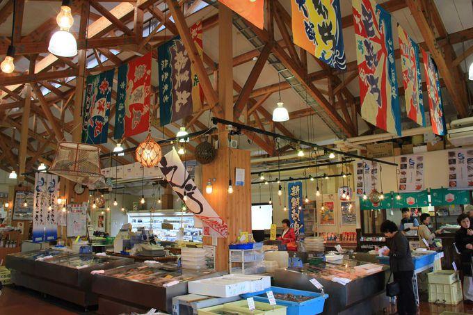 魚の駅「生地」で富山湾の新鮮な海の幸を堪能