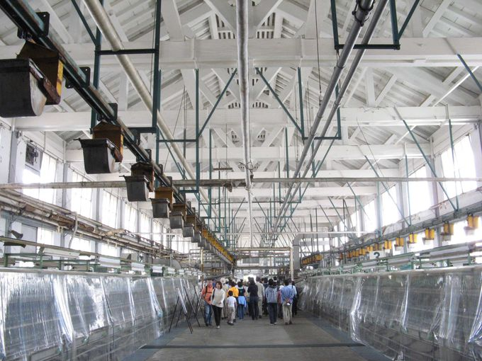 富岡製糸場の中核施設 操糸場の建物
