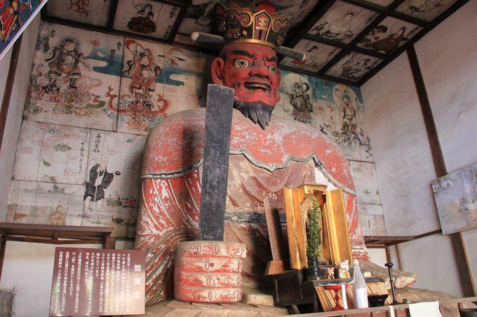 日本最大の閻魔像と信玄の弟、武田信繁ゆかりの典厩寺