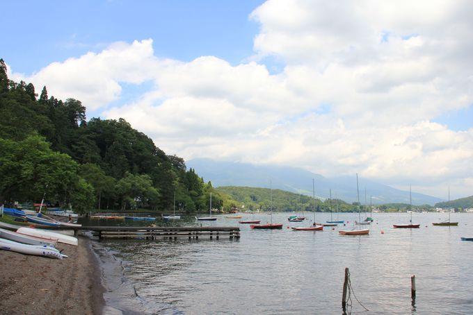 高原の湖・野尻湖で水遊びも夏のお勧め