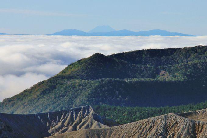 見晴らしが良ければ世界遺産となった富士山の眺望も!