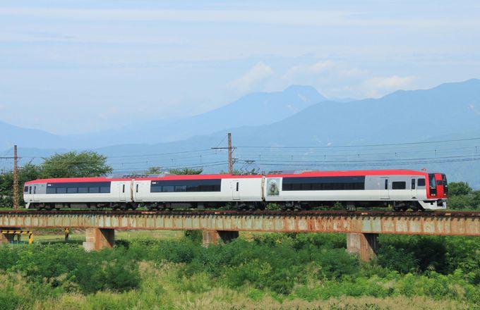 懐かしい電車に乗って北信州の山並みを眺めながらのローカル線旅
