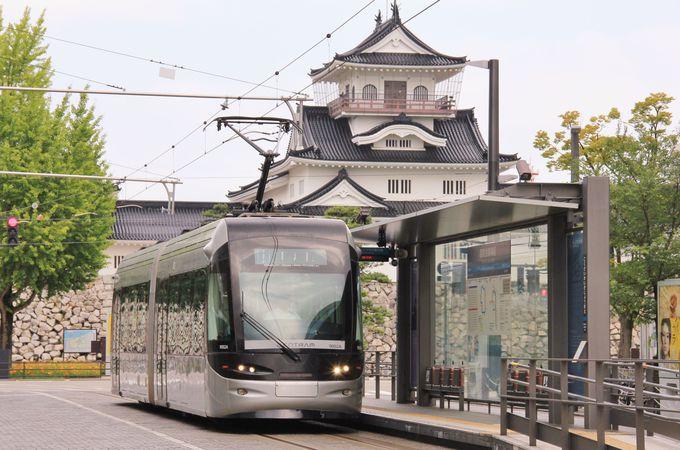 市内観光にとても便利な路面電車
