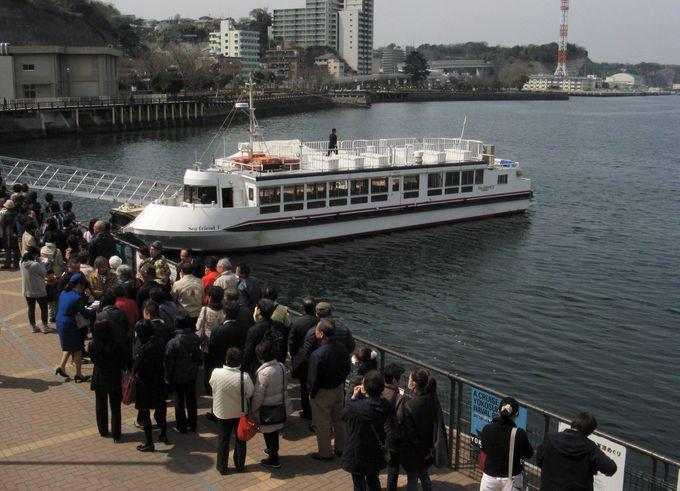 2.YOKOSUKA軍港めぐり