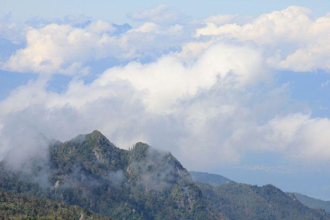 空と雲が近い!雲の上の世界へ