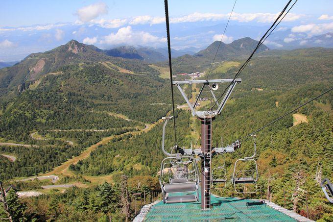 天空の世界!眺望抜群の横手山頂までのアクセス手段