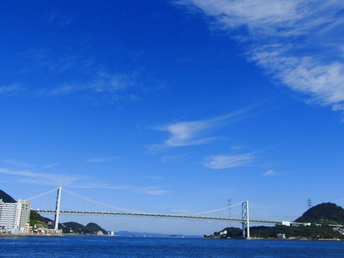 数々の歴史の舞台!関門海峡〜美しい橋が本州と九州を結ぶ!