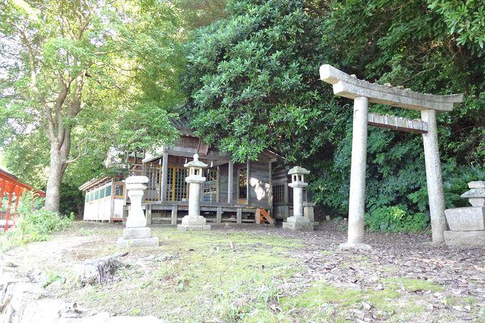 大山祇神社の境外摂社・・磐長姫を祀る阿奈波神社