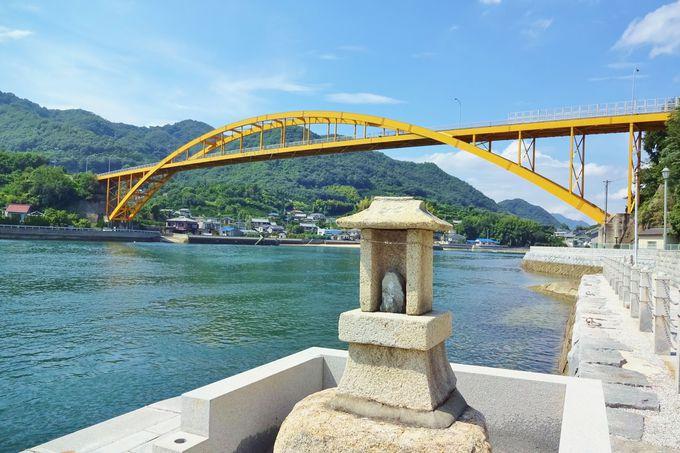 平山画伯が幼いころ見た風景・・瀬戸田水道と高根島を望む♪