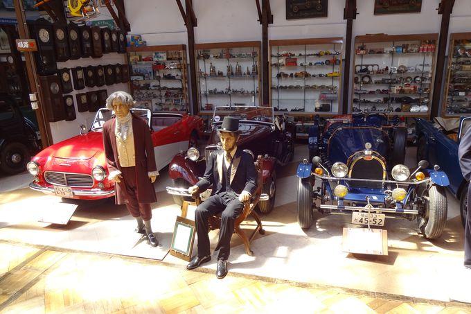 コレクションの多さに圧倒される!「福山自動車時計博物館」