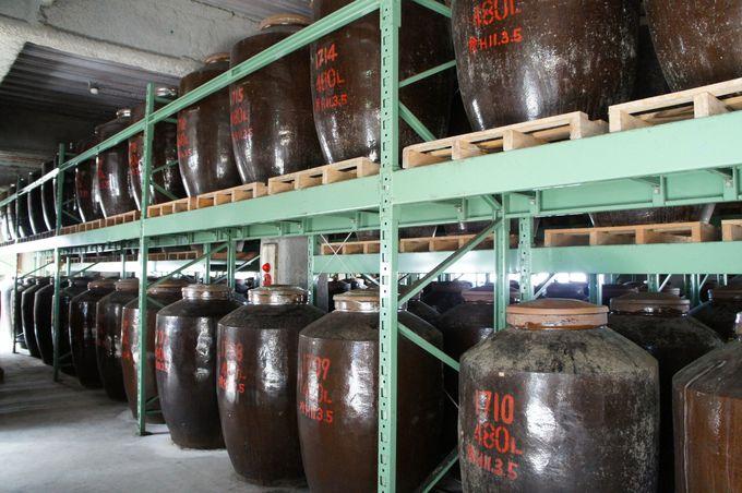 蒸留酒の発祥地中国を見習った甕仕込み、甕貯蔵のこだわり!