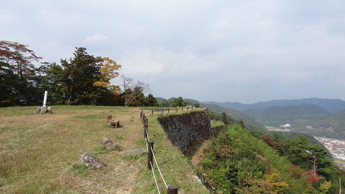 山城ですが、井戸もあった天空の城・・