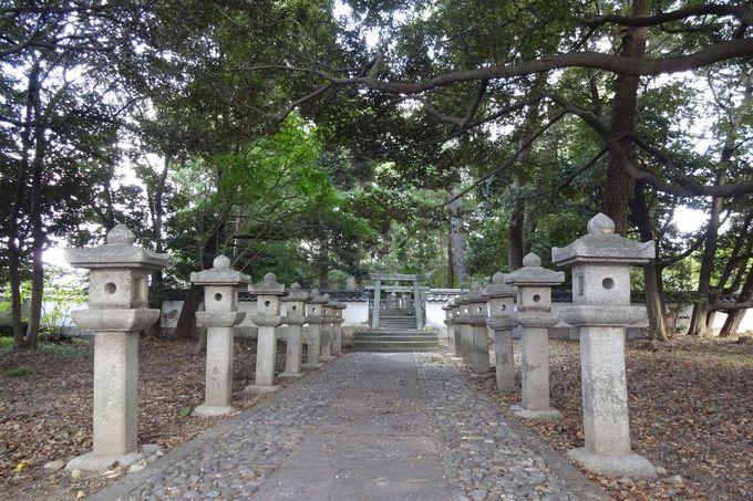 毛利輝元の屋敷だった四本松邸がそのまま墓所天樹院へ