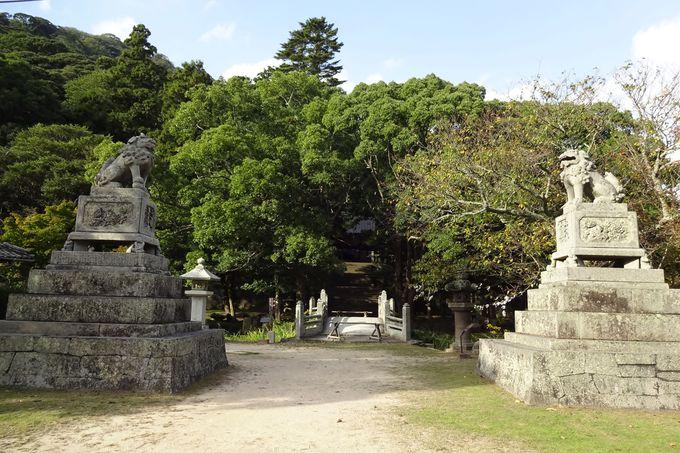「花燃ゆ」のロケも行われた「志都岐山神社」の万歳橋