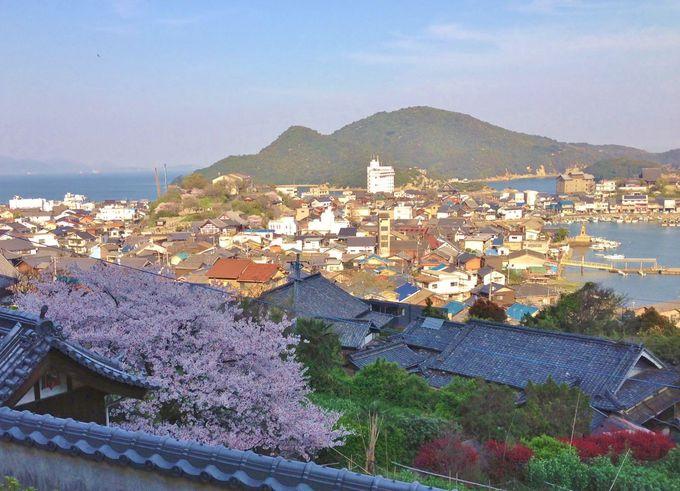 医王寺から、常夜灯〜仙酔島まで見渡せる絶景!