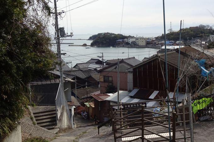 「平賀源内生祠」からの港町・鞆の懐かしい朗景