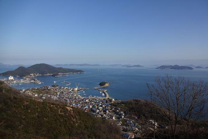 絶景とワインディングロードが楽しい「福山グリーンライン」