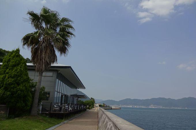 瀬戸内海の島々を見ながらゆったり散歩も〜