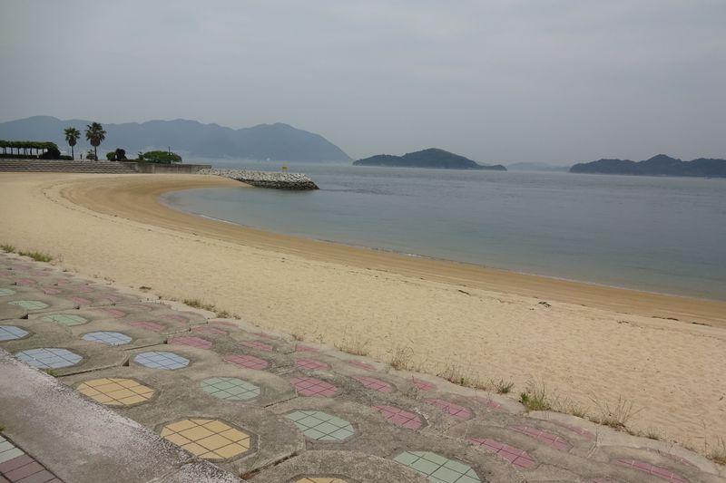 すなみ海浜公園で、海水浴〜温泉?!広島県三原市で海と遊ぶ