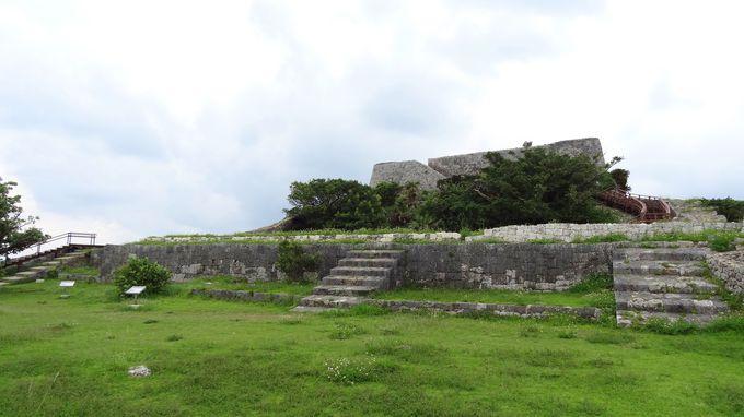 二の曲輪の舎殿跡〜首里城正殿のような建物がここに?!