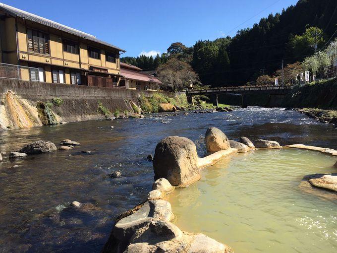 風情ある温泉街「長湯温泉」は日本一の炭酸泉