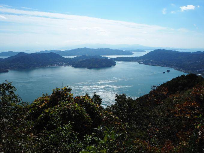 生口島にある芸予諸島・最高峰の「観音山」で絶景を眺める