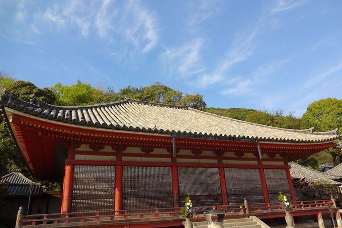 南北朝時代に建てられた格式高い阿弥陀堂