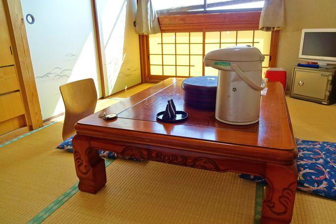 「上田屋」本館のお部屋は合宿気分で楽しめる!