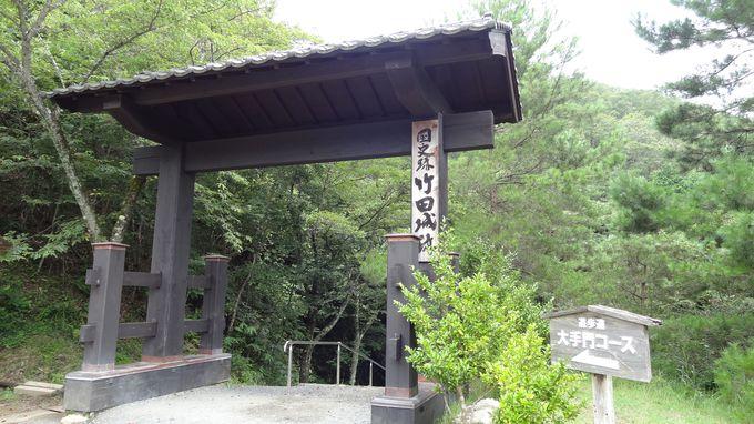 数々の映画やドラマのロケ地になった竹田城跡