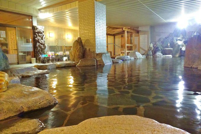 「千珠の湯」「神泉の湯」という趣の違う2つの浴場を楽しむ!