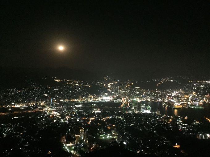 世界新三大夜景選出の「稲佐山」からの輝きはやっぱりスゴイ!