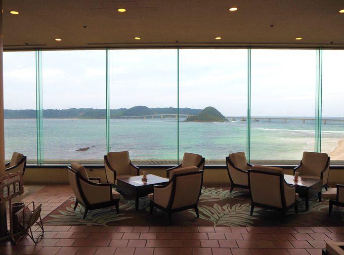 角島大橋と日本海の絶景一望の温泉!下関「ホテル西長門リゾート」