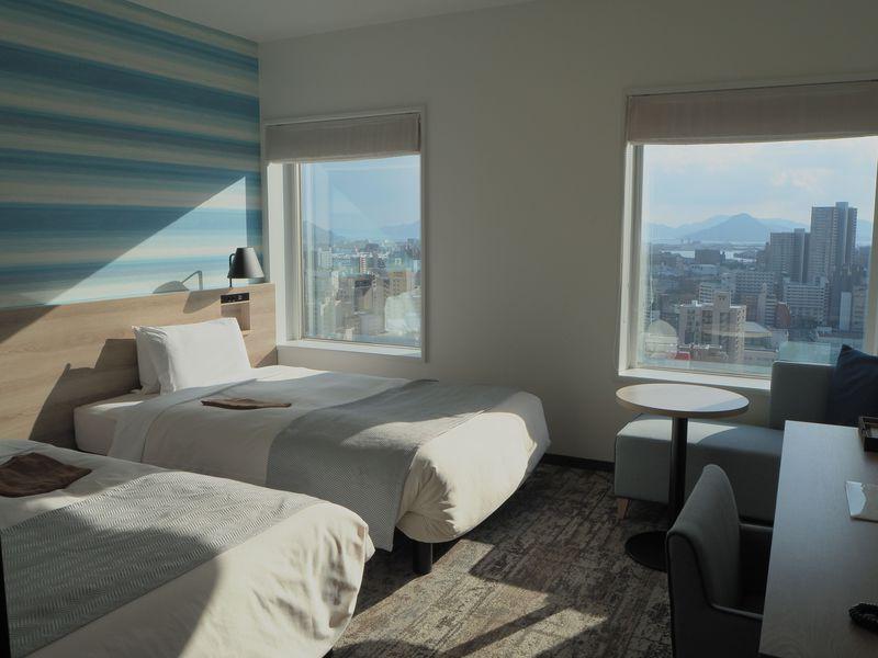 瀬戸内海に牡蠣の部屋?眺望最高!「三井ガーデンホテル広島」で贅沢な時間を