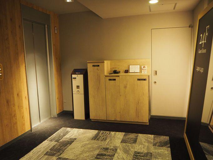 """""""Setouchi Blue""""の清々しい客室で迎える朝"""