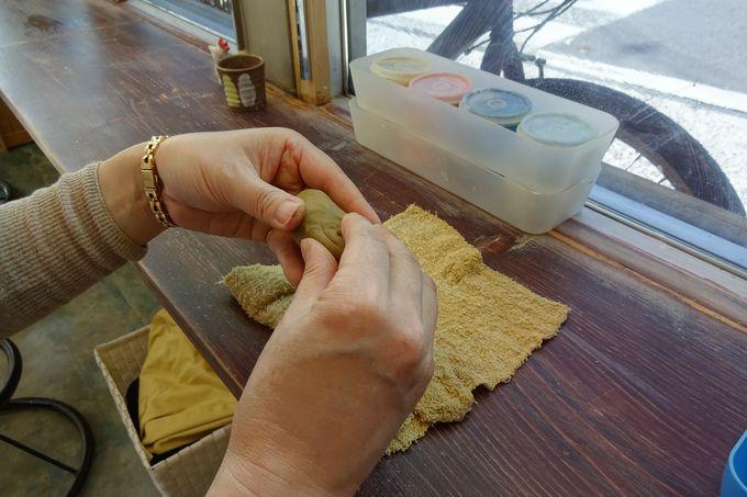決められた粘土で、自分だけの思い出を「カタチ」にして!