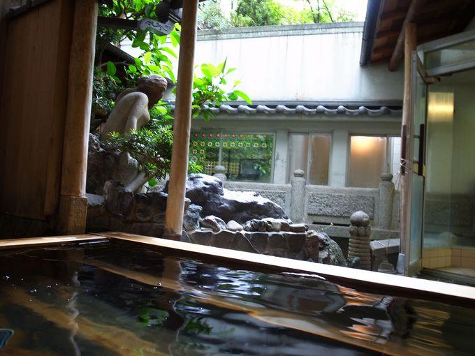 京都発の露天風呂!?日本初の電気風呂!?